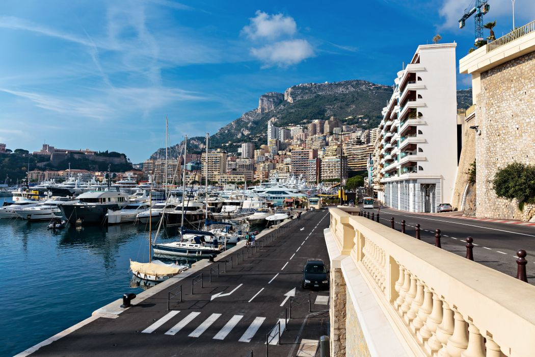 Monaco Houses Marinas Ships Monte Carlo Cities wallpaper