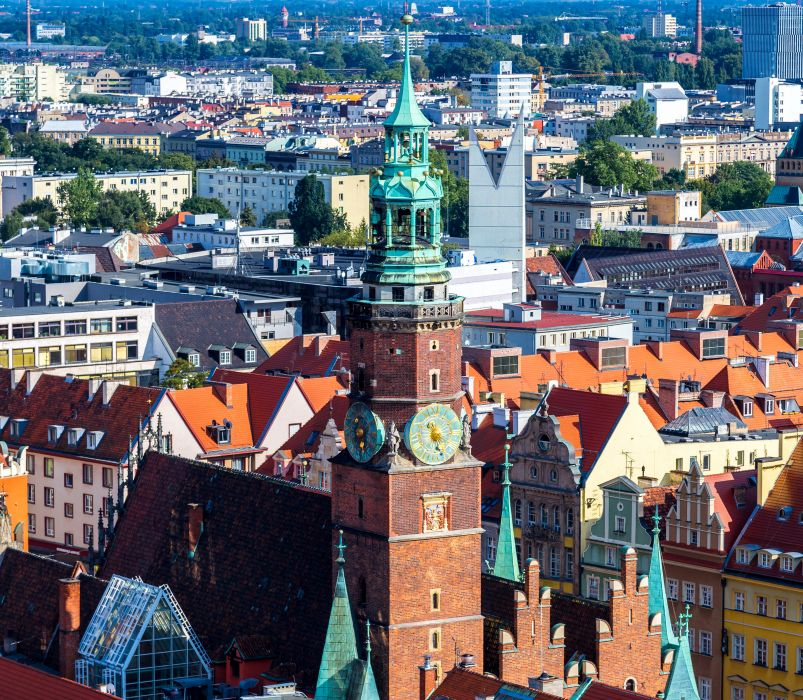 Poland Houses Wroclaw Cities wallpaper