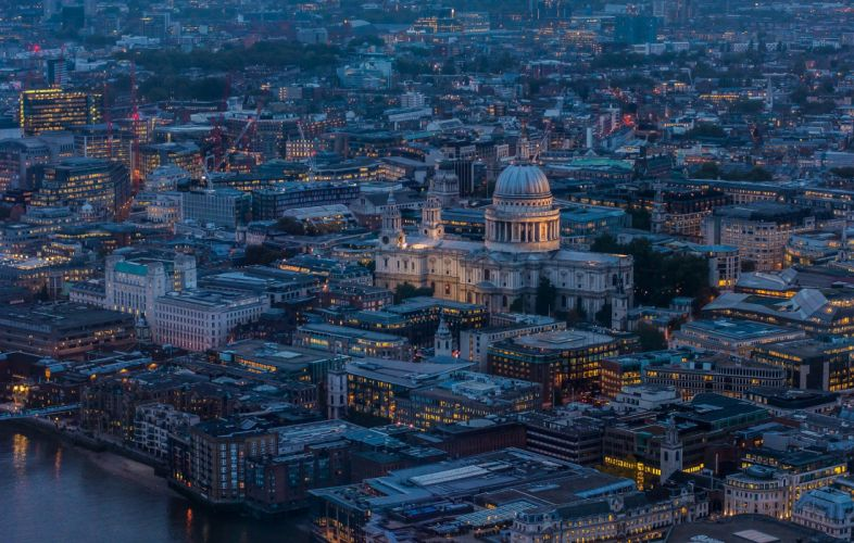 Houses England From above London Cities wallpaper