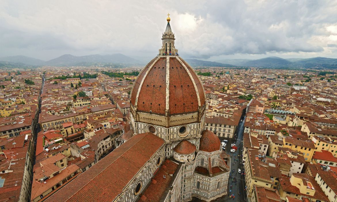 Houses Florence Cathedral di Santa Maria del Fiore Cities wallpaper