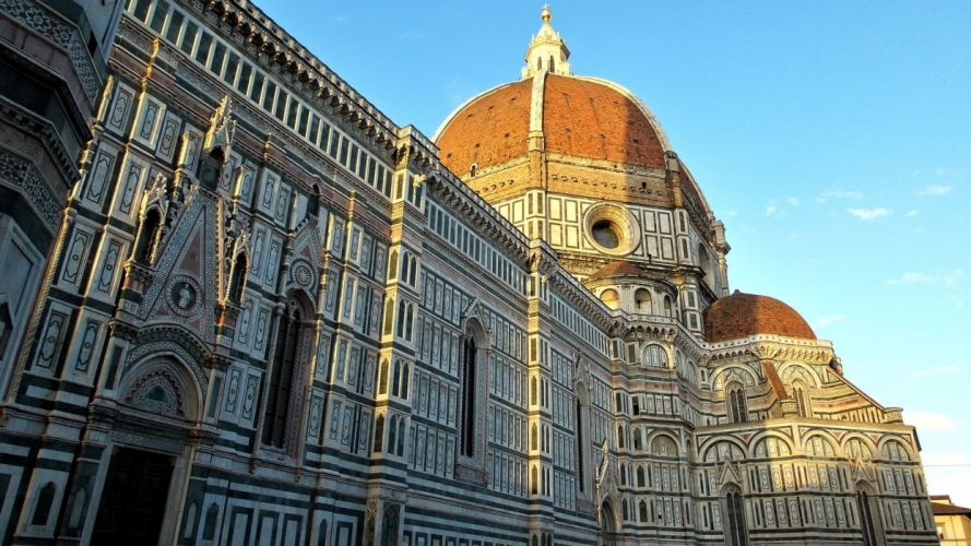Houses Italy Florence Florence Cathedral Cities wallpaper