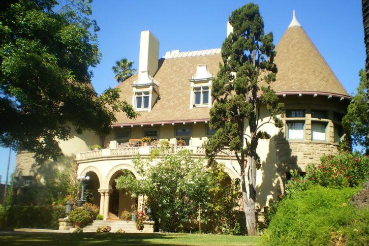 USA Houses Malibu California Mansion Design Trees Cities wallpaper