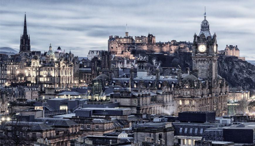 Scotland Houses Edinburgh Cities wallpaper