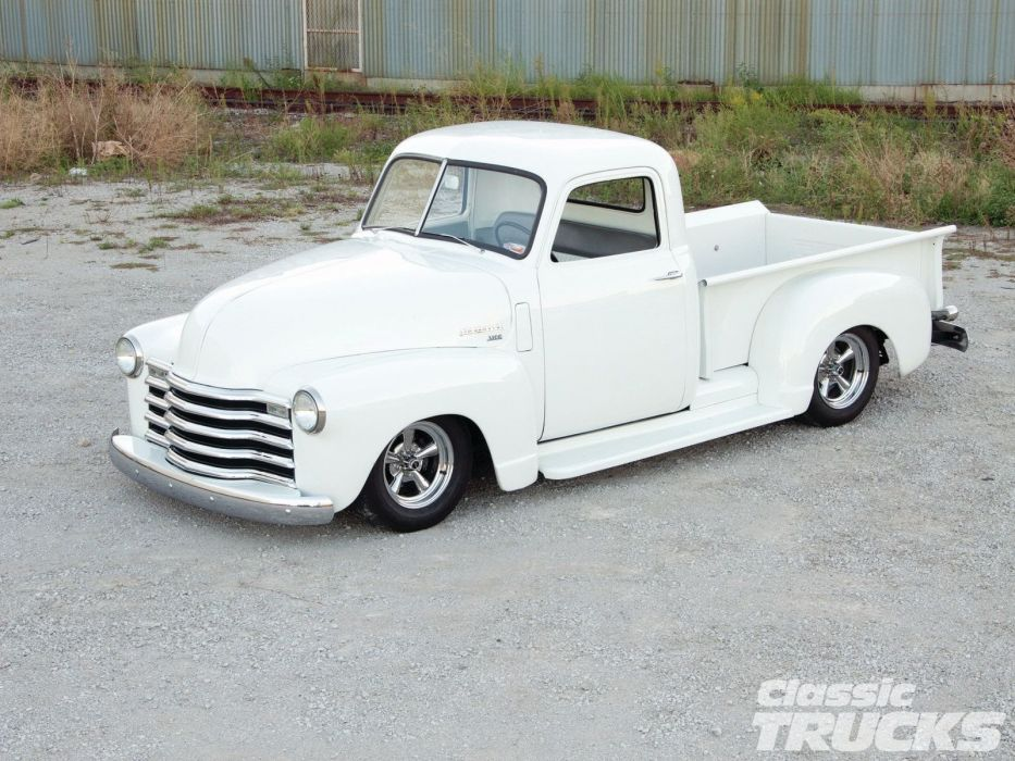 1950 Chevrolet 3100 Pickup Hotrod Hot Rod Streetrod Street USA 1600x1200-01 wallpaper