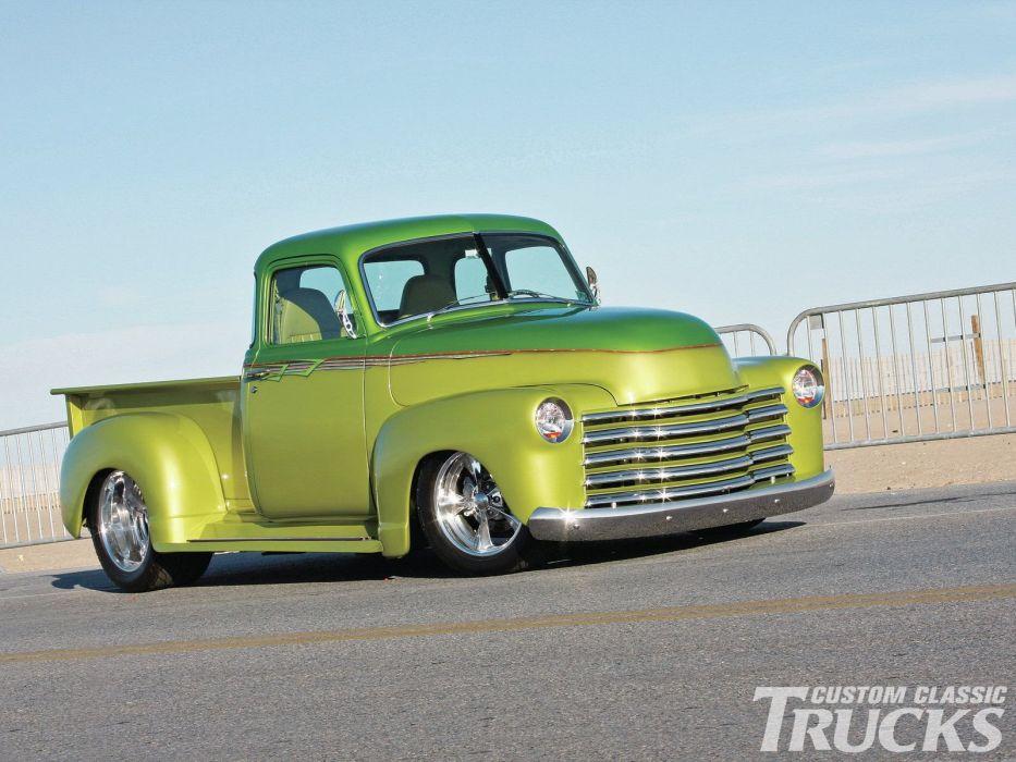 1950 Chevrolet 3100 Pickup Hotrod Hot Rod Streetrod Street