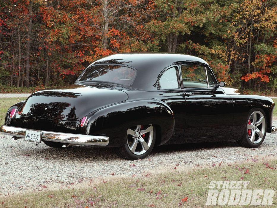 1950 Chevrolet Sedan 2 Door Hotrod Streetrod Hot Rod Street USA 1600x1200-02 wallpaper