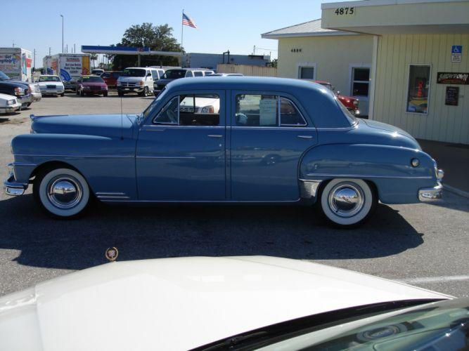 1950 Desoto Custom Sedan Four Door Classic Old Vintage Original USA 2048x1536-08 wallpaper