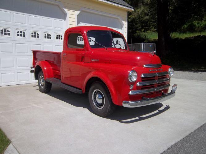 1950 Dodge Pickup Classic Old Vintage USA 4288x3216 wallpaper