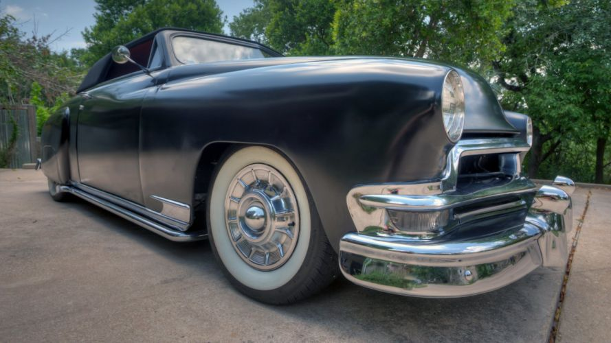 1950 Dodge Wayfarer Convertible Hotrod Hot Rod Custom Old School USA 1735x976-01 wallpaper