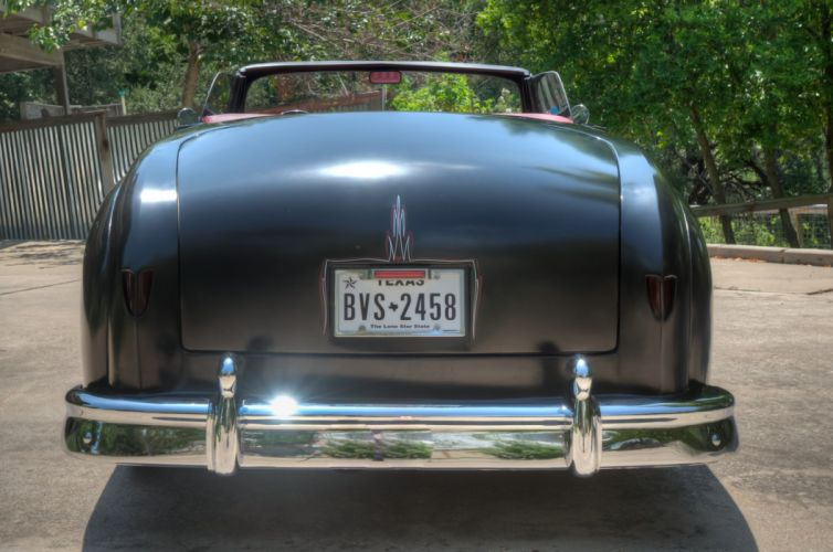 1950 Dodge Wayfarer Convertible Hotrod Hot Rod Custom Old School USA 1735x976-03 wallpaper