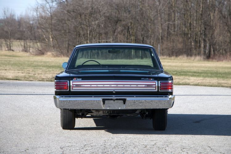 1966 Plymouth Belvedere Satellite 426 Hemi Hardtop Coupe cars black classic muscle wallpaper