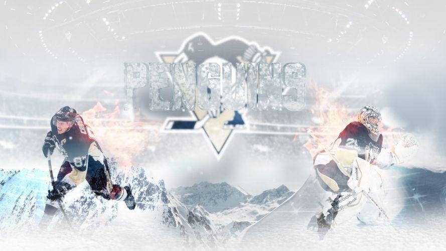 Pittsburgh Penguins Ice Version wallpaper
