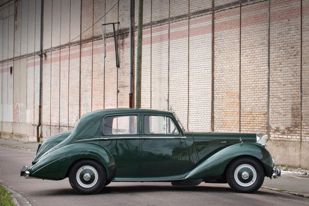 1957 Bentley R-Type Saloon Rally Monte-Carlo cars green classic wallpaper