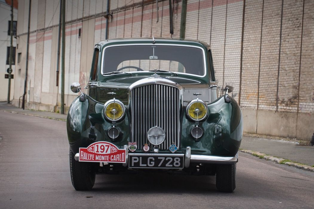 1957 Bentley R-Type Saloon Rally Monte-Carlo cars green classic wallpaper