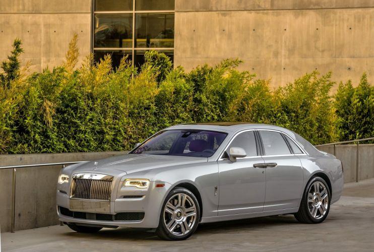 2012 Rolls Royce Ghost US-spec cars luxury wallpaper