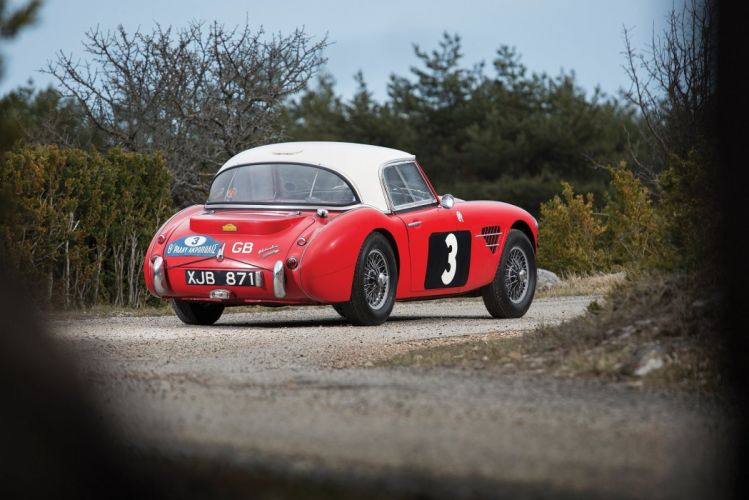 1961 Austin Healey 3000 Rally Cars (MkI) racecars classic wallpaper