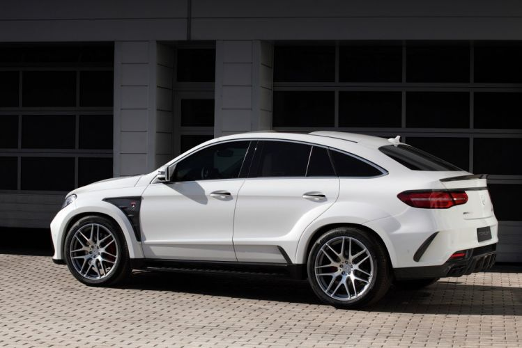 2016 TopCar Mercedes Benz GLE Coupe Inferno (C292) cars suv white modified wallpaper