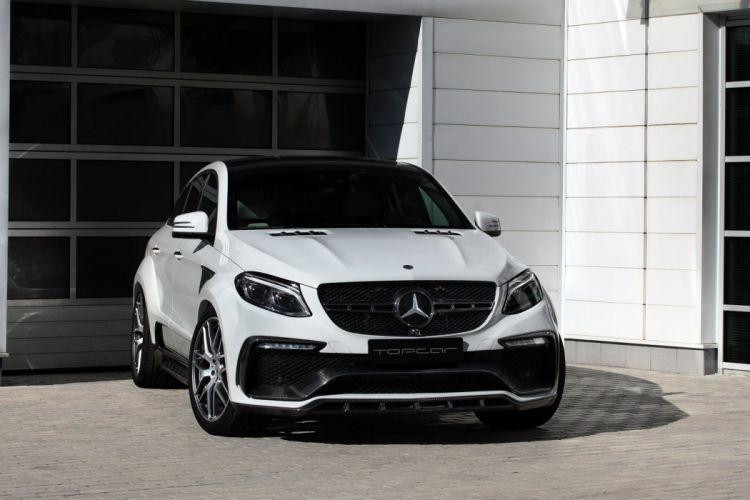 2016 TopCar Mercedes Benz GLE Coupe Inferno (C292) cars suv white modified wallpaper