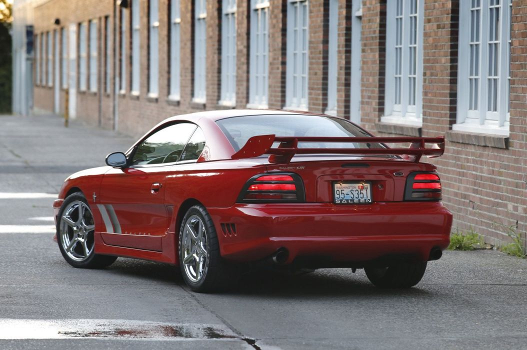 Saleen S351 1994 ford Mustang cars modified red wallpaper