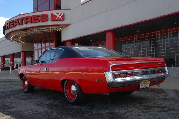 1971 AMC Matador cars coupe classic red wallpaper