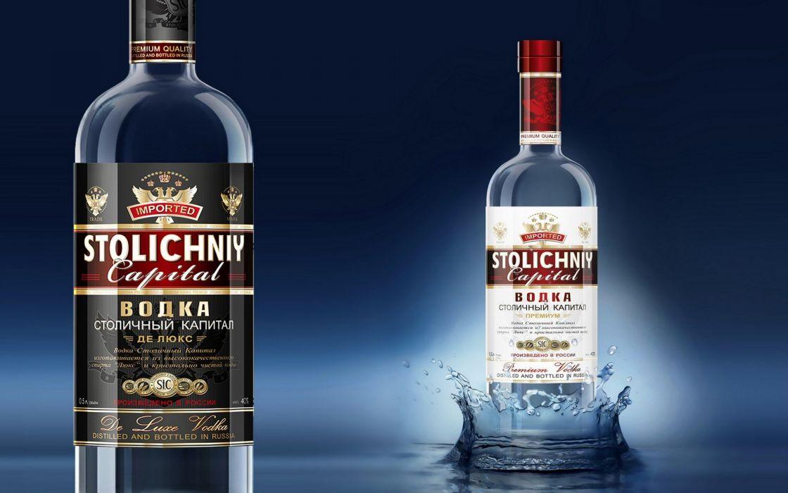 botellas vodka ruso wallpaper