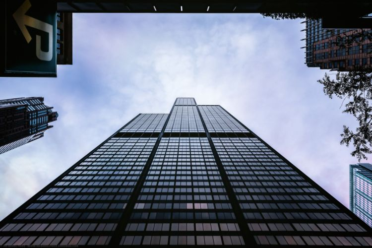 Houses Skyscrapers USA Chicago city Willis Tower Cities wallpaper