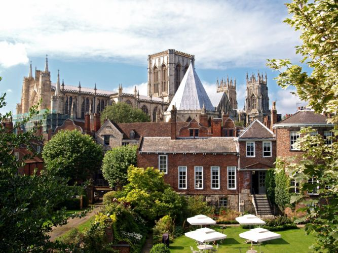 England Houses Trees York Cities wallpaper