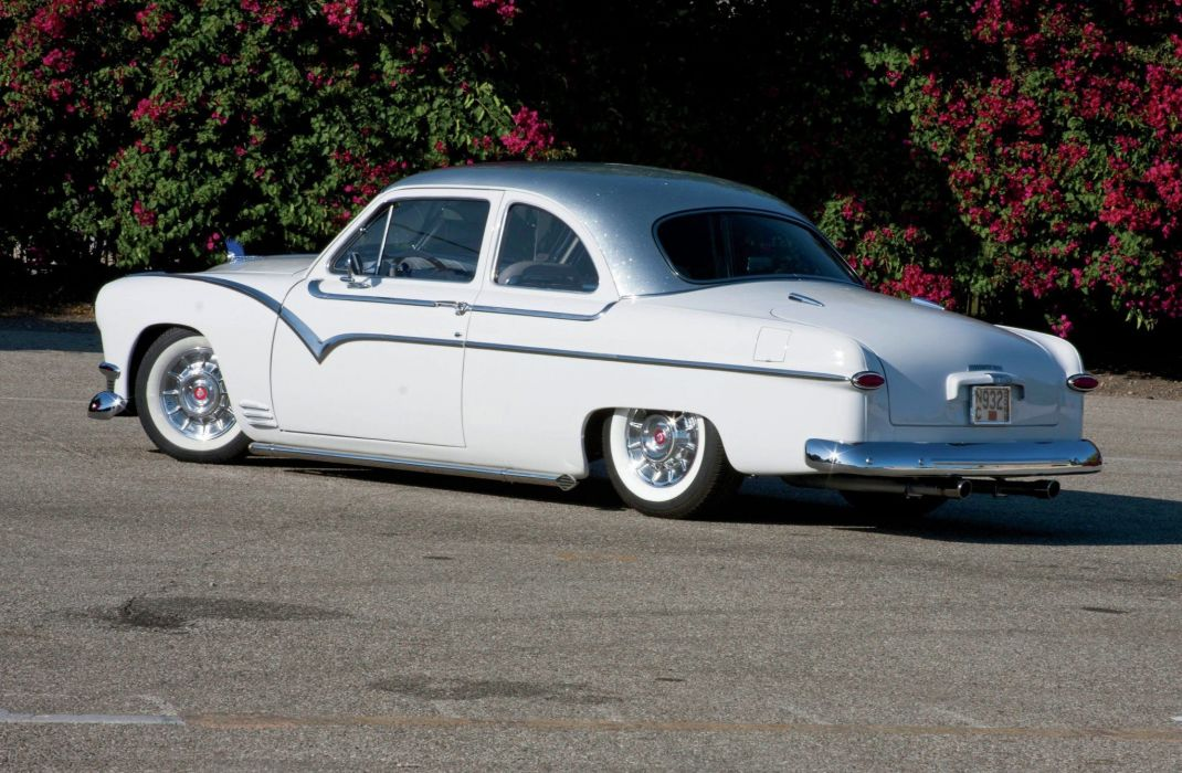 1950 Ford Club Coupe Hotrod Hot Rod Custom Kustom USA 1600x1200-04 wallpaper