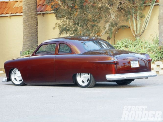 1950 Ford Club Coupe Hotrod Hot Rod Streetrod Street USA 1600x1200-01 wallpaper