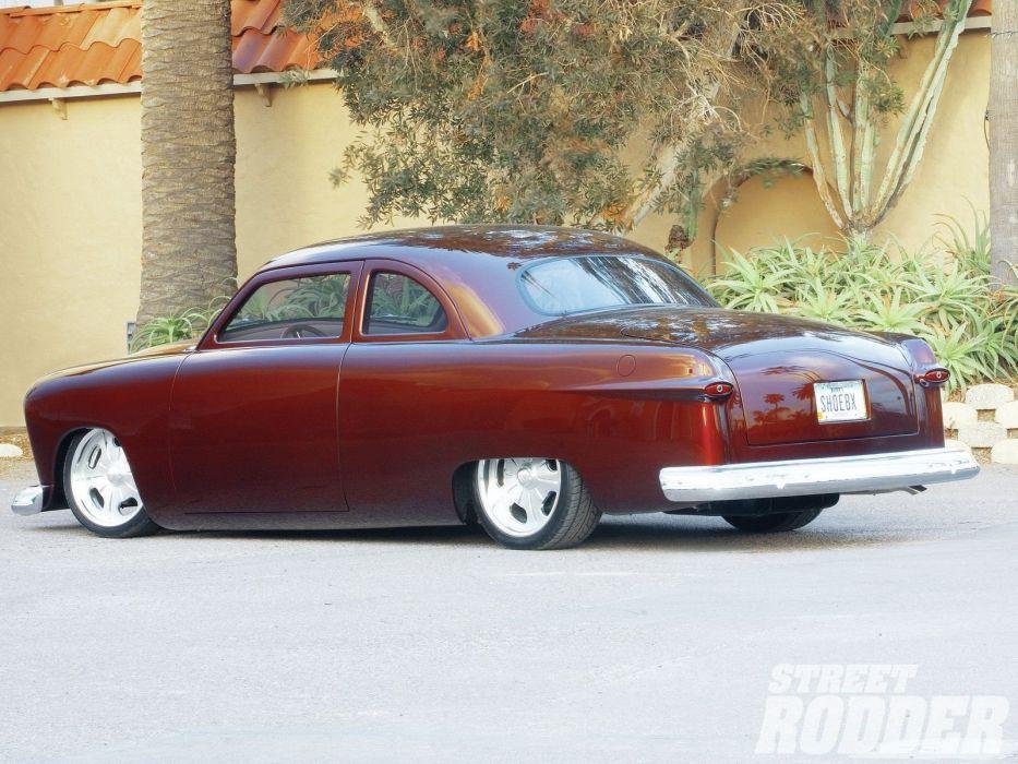 1950 Ford Club Coupe Hotrod Hot Rod Streetrod Street USA 1600x1200-01 wallpaper