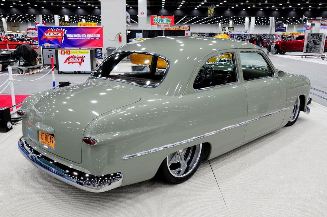 1950 Ford Coupe Hotrod Hot Rod Streetrod Street USA 1810x1360-04 wallpaper