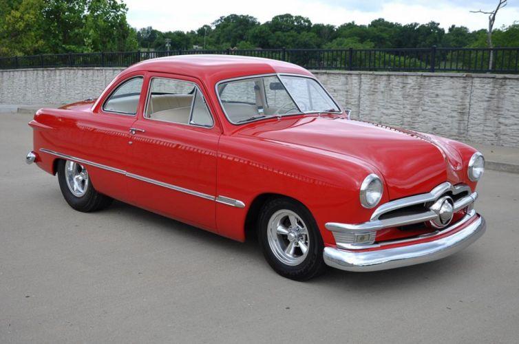 1950 Ford Coupe Hotrod Streetrod Hot Rod Street Custom USA--05 wallpaper