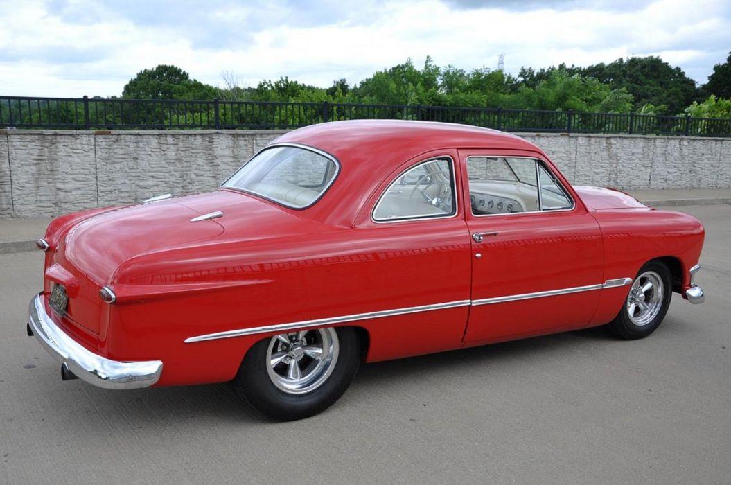 1950 Ford Coupe Hotrod Streetrod Hot Rod Street Custom USA--06 wallpaper