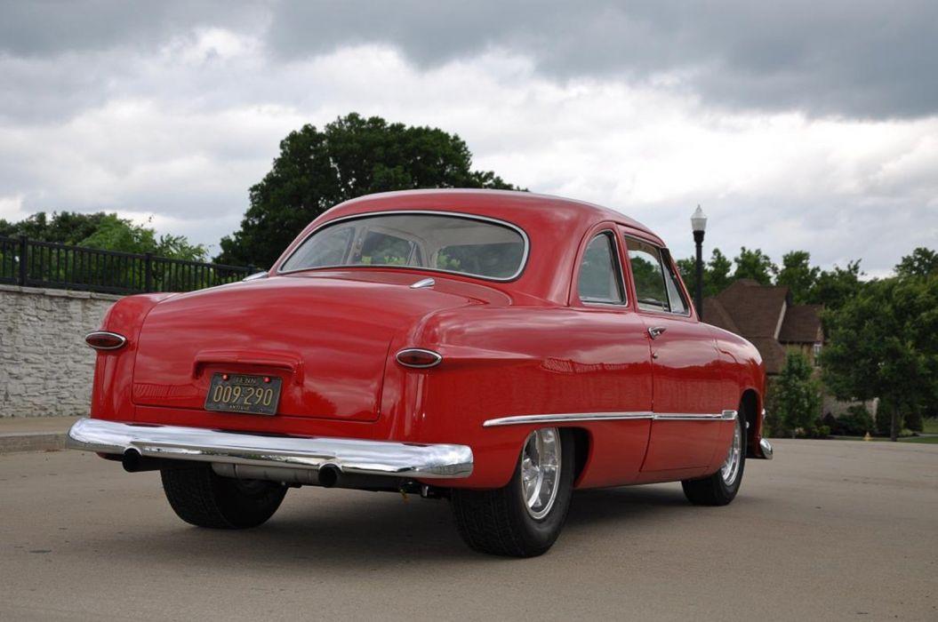 1950 Ford Coupe Hotrod Streetrod Hot Rod Street Custom USA--07 wallpaper