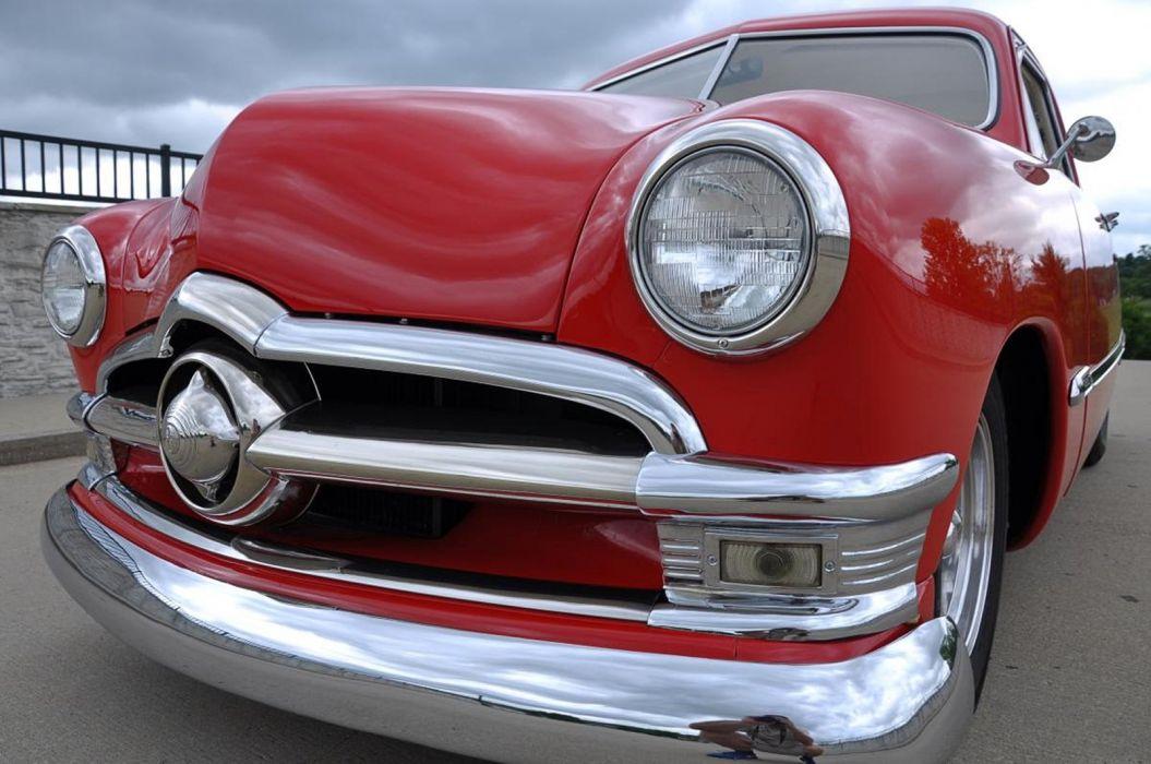 1950 Ford Coupe Hotrod Streetrod Hot Rod Street Custom USA--10 wallpaper