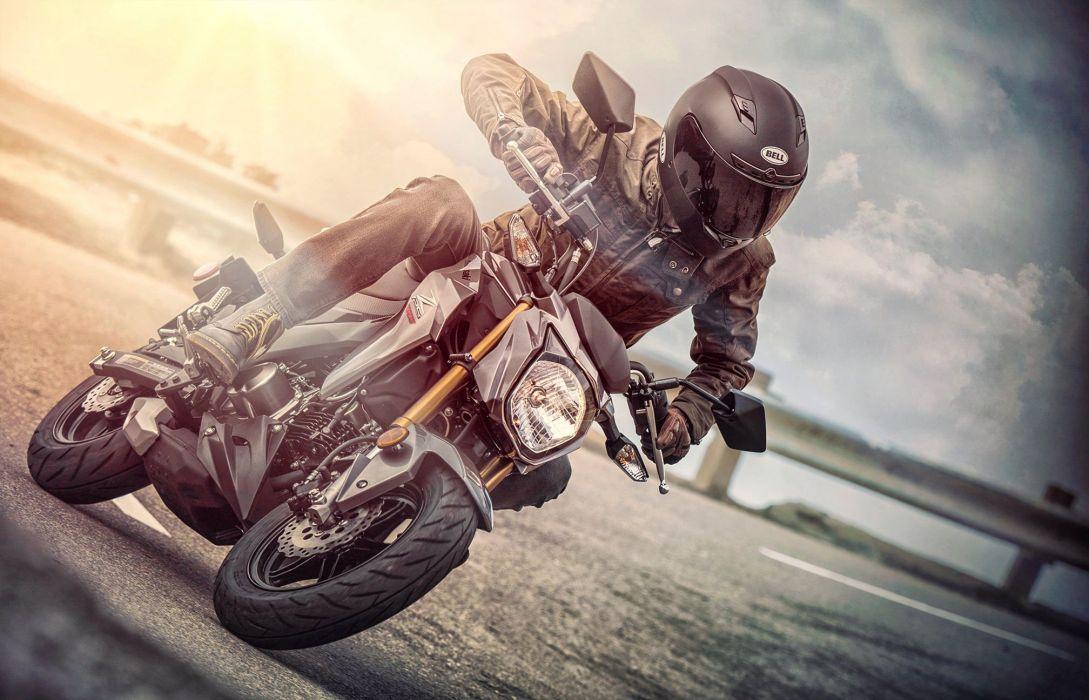2017 Kawasaki Z125 Pro motorbike bike motorcycle wallpaper