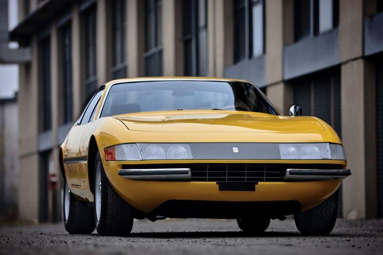4 Daytona 1968 1971 cars yellow classic wallpaper