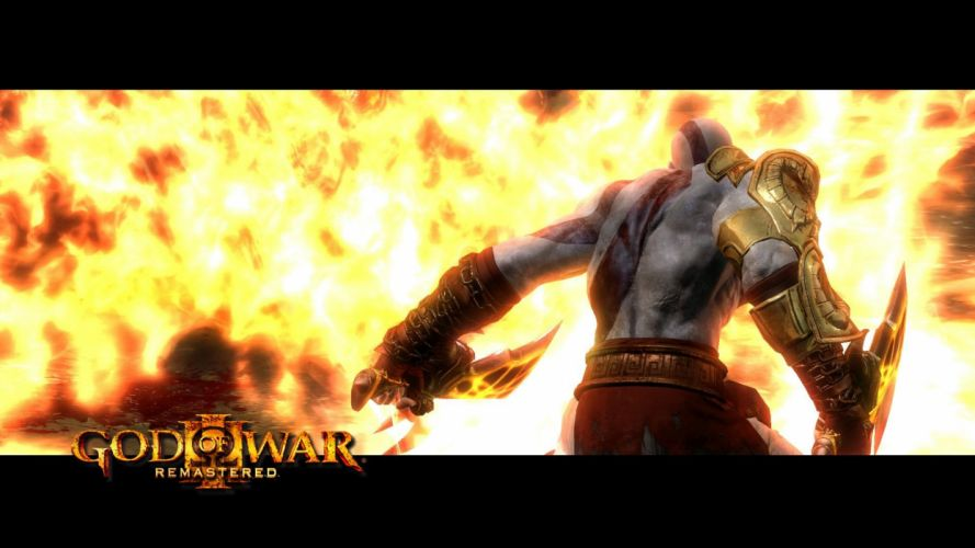 GOD OF WAR fighting warrior action fantasy action adventure poster wallpaper