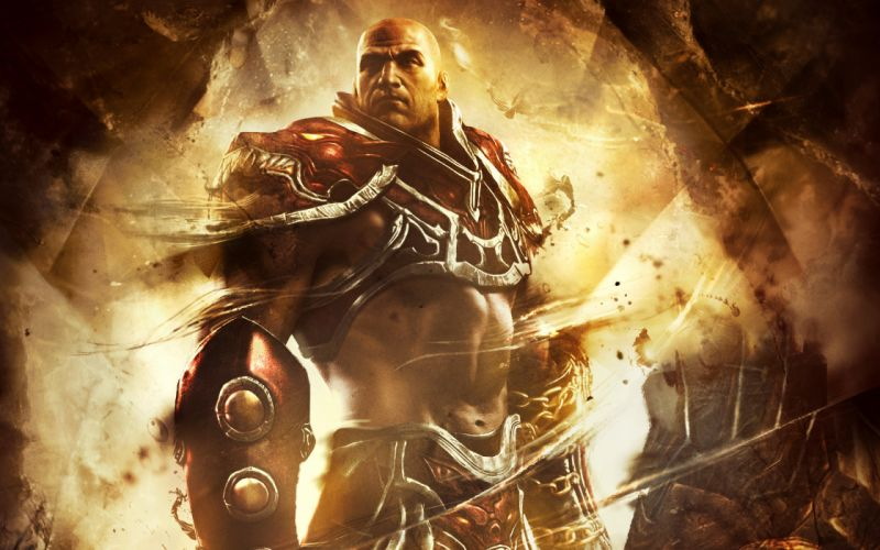 GOD OF WAR fighting warrior action fantasy action adventure wallpaper