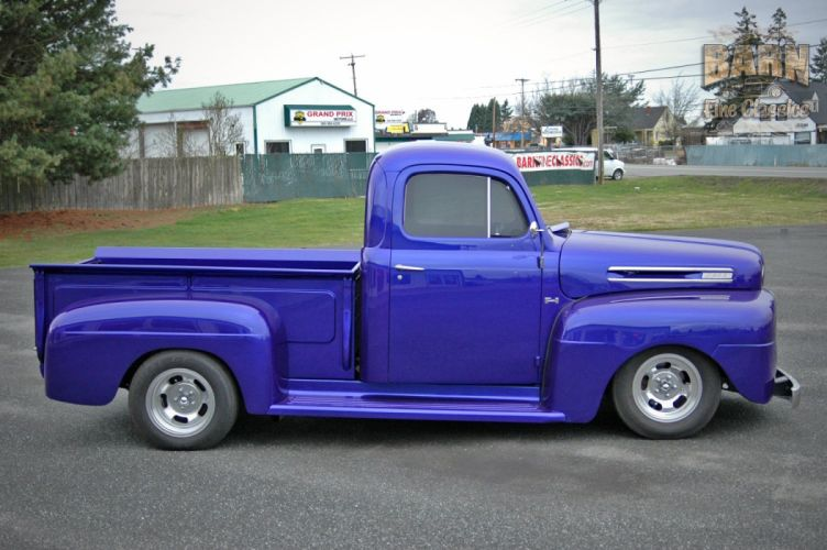 1950 Ford F1 Pickup Hotrod Streetrod Hot Rod Street USA 1500x1000-02 wallpaper