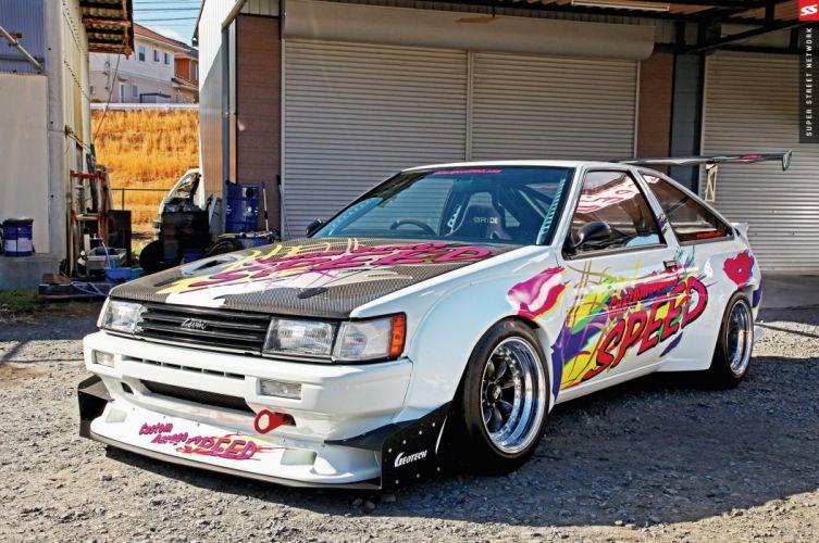 AE86 Toyota Corollas cars modified wallpaper