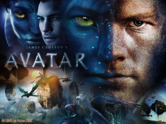 AVATAR fantasy action adventure sci-fi futuristic alien aliens warrior fighting poster wallpaper