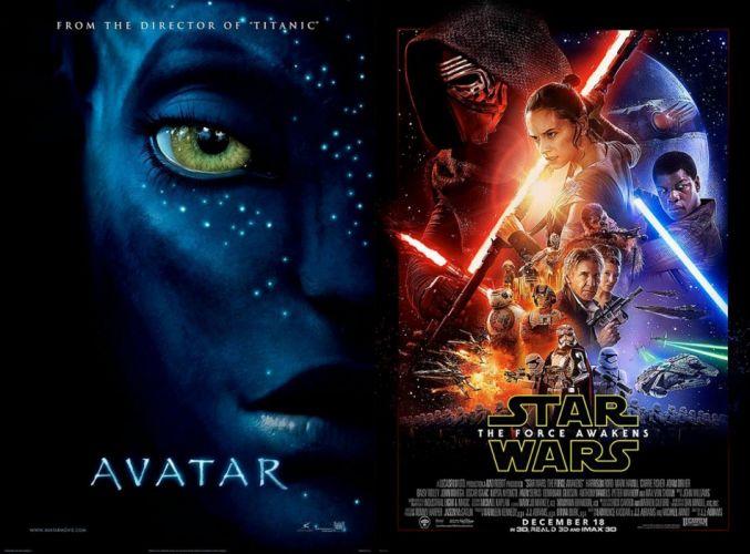 AVATAR fantasy action adventure sci-fi futuristic alien aliens warrior fighting poster star wars force awakens wallpaper