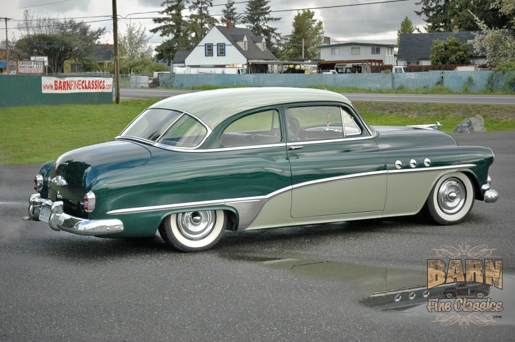 1951 Buick Eight Coupe Special Classic Old Vintage USA 1500x1000-08 wallpaper