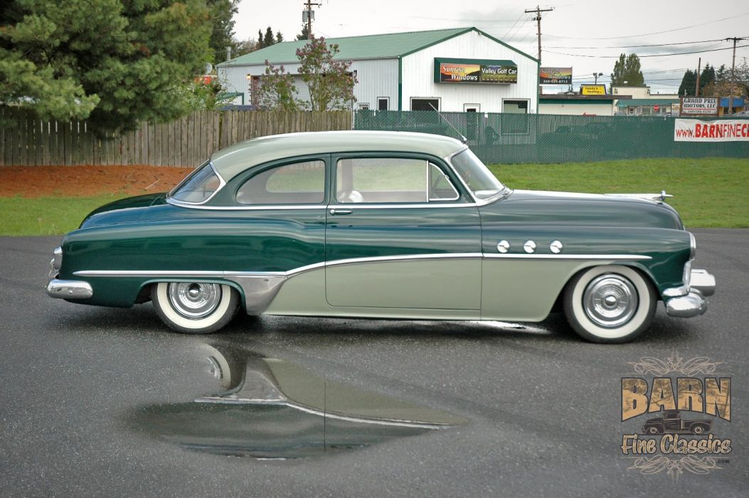 1951 Buick Eight Coupe Special Classic Old Vintage USA 1500x1000-09 wallpaper