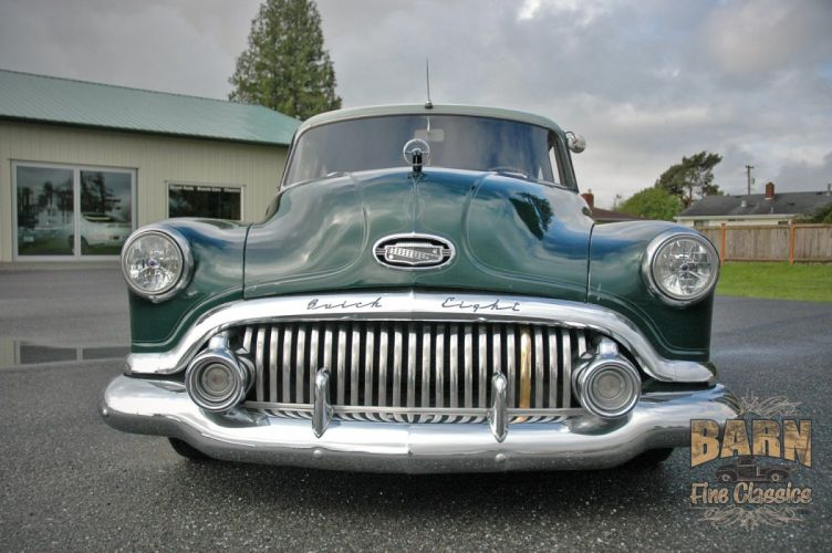 1951 Buick Eight Coupe Special Classic Old Vintage USA 1500x1000-10 wallpaper