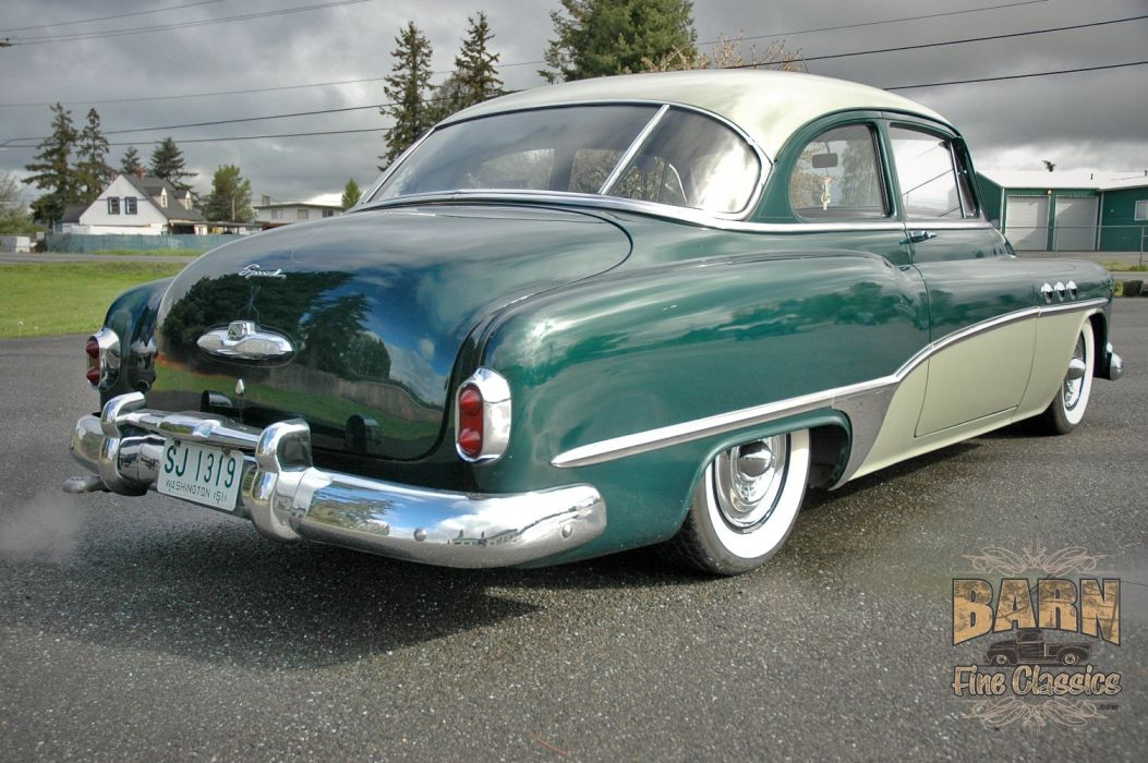 1951 Buick Eight Coupe Special Classic Old Vintage USA 1500x1000-11 wallpaper