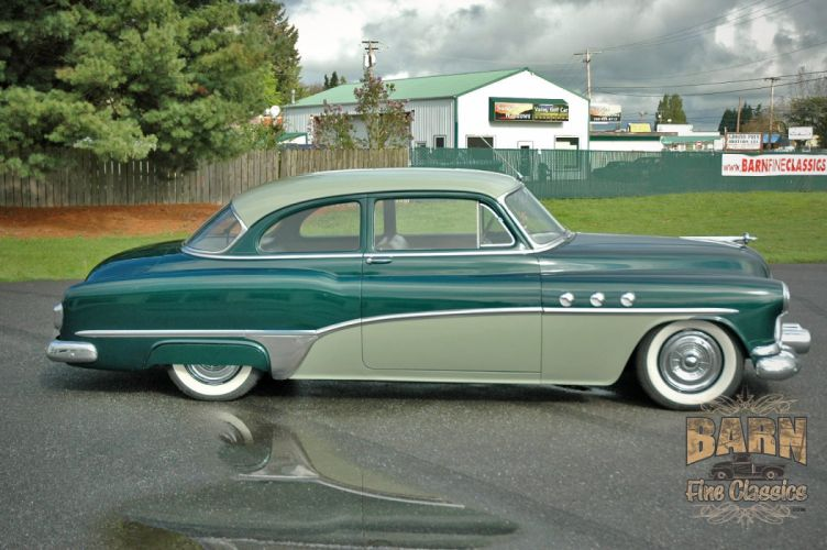 1951 Buick Eight Coupe Special Classic Old Vintage USA 1500x1000-12 wallpaper