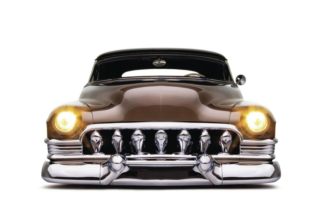 1951 Cadillac Coupe Hotrod Hot Rod Custom Lowered Low USA 2048x1340-01 wallpaper