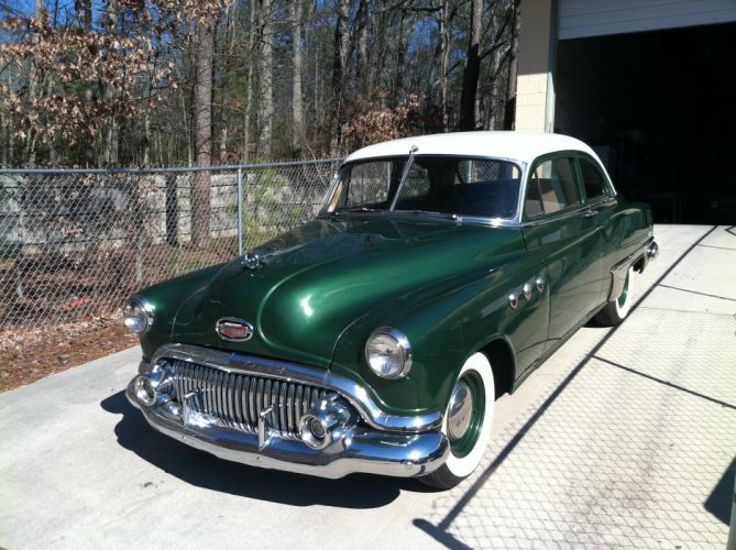 1951 Buick Eight Coupe Special Classic Old Vintage USA 2592x1936-10 wallpaper